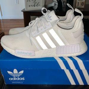Adidas NMD_R1 All White